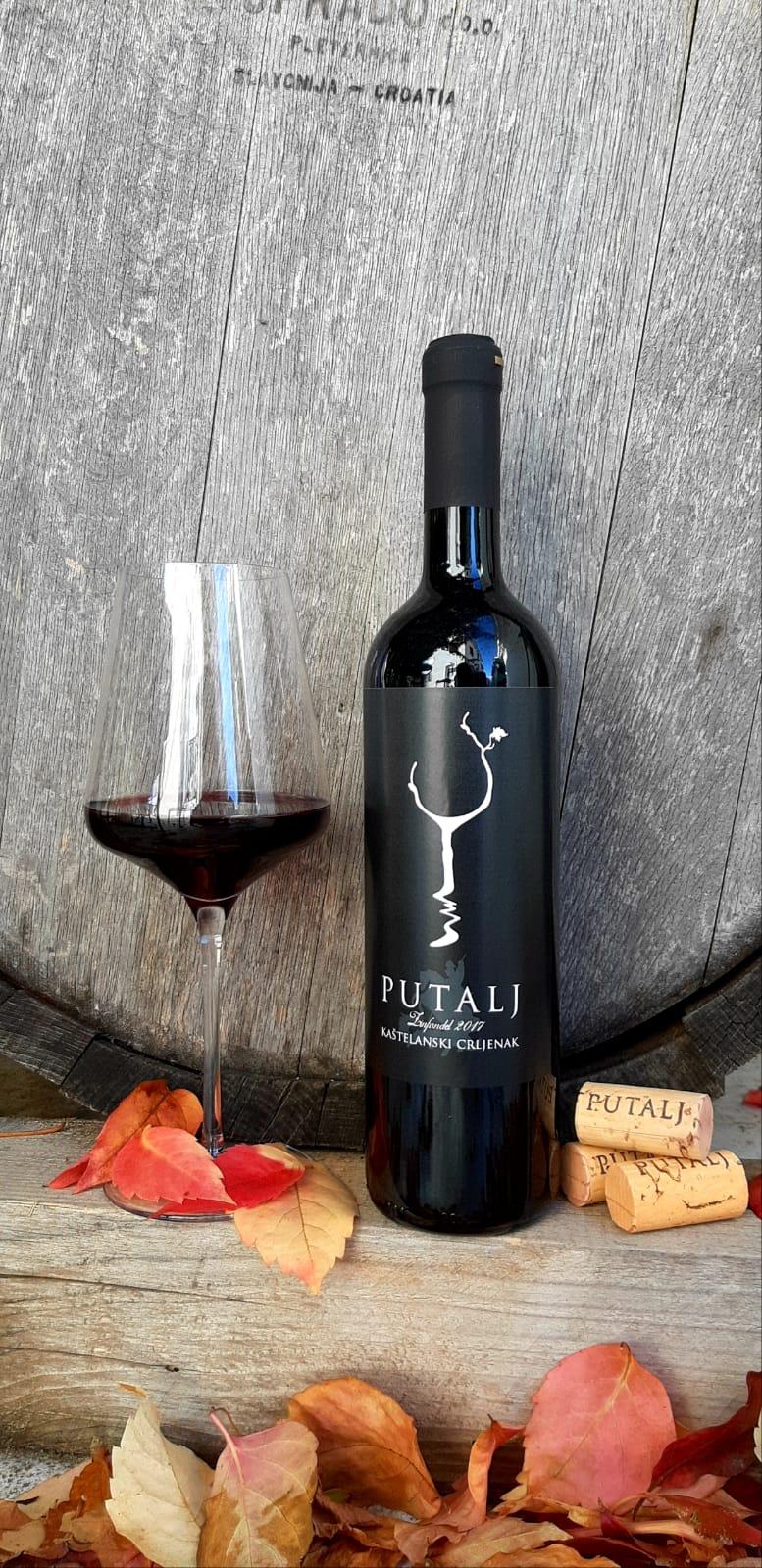 Putalj Zinfandel wine
